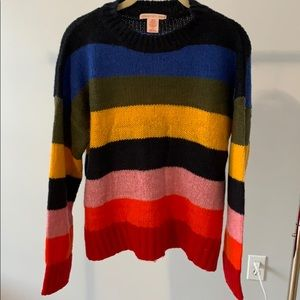 Urban Outfitters famous rainbow sweater
